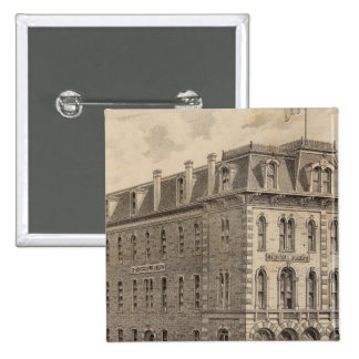 Saint Paul Press Company 15 Cm Square Badge