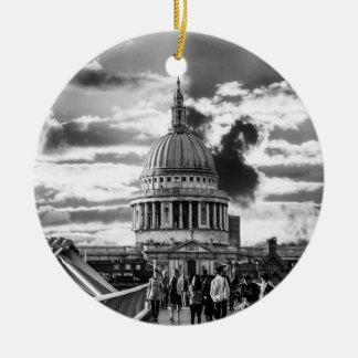 Saint Pauls Cathedral London. Christmas Ornament
