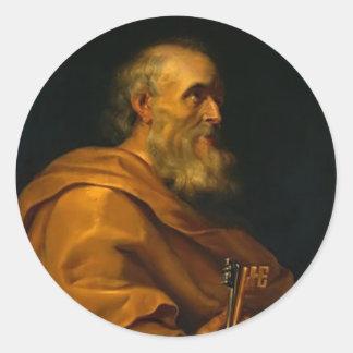 Saint Peter by Jusepe de Ribera Stickers