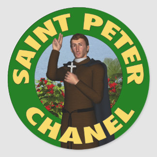Saint Peter Chanel Stickers