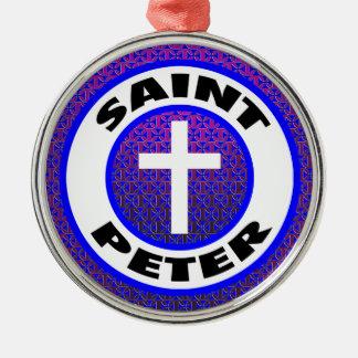 Saint Peter Christmas Ornament