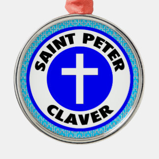 Saint Peter Claver Christmas Ornament