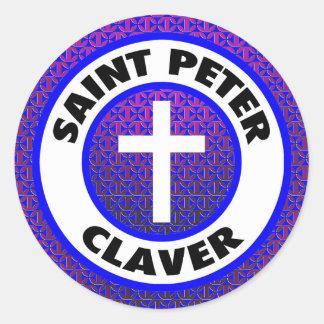 Saint Peter Claver Round Sticker