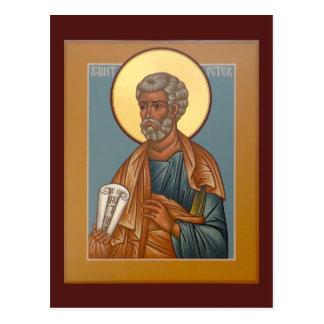 Saint Peter Prayer Card Postcard