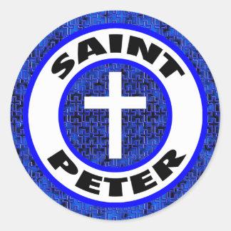Saint Peter Round Sticker