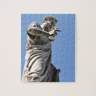 Saint Peter statue in Rome, Italy Jigsaw Puzzle