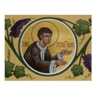 Saint Peter the Aleut Prayer Card