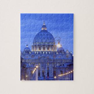 Saint peters bascillia  evening dusk view jigsaw puzzle