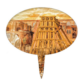 Saint Peter's Obelisk Cake Toppers