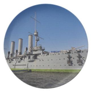 Saint Petersburg, Cruiser Aurora Plate