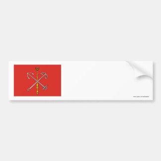 Saint Petersburg Flag Car Bumper Sticker