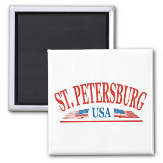 Saint Petersburg Florida Magnet