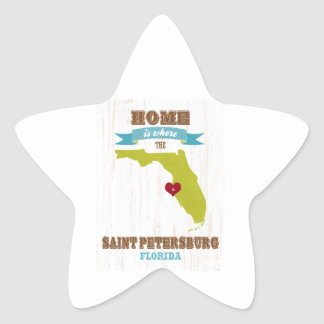 Saint Petersburg Florida Map – Home Is Where Stickers