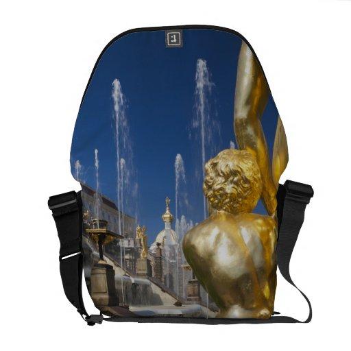 Saint Petersburg, Grand Cascade fountains 2 Courier Bags