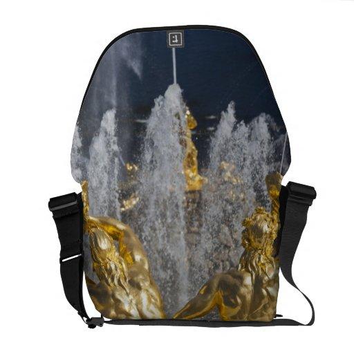 Saint Petersburg, Grand Cascade fountains 4 Commuter Bags
