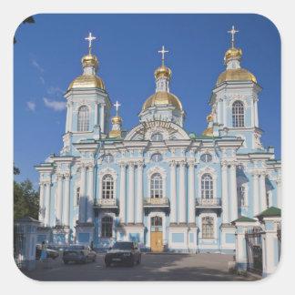Saint Petersburg, Mariinsky, Nikolsky Cathedral Square Sticker