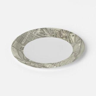 Saint Petersburg, Russia 5 7 Inch Paper Plate