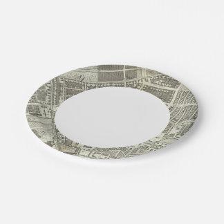 Saint Petersburg, Russia 8 7 Inch Paper Plate