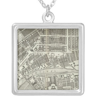 Saint Petersburg, Russia 8 Silver Plated Necklace
