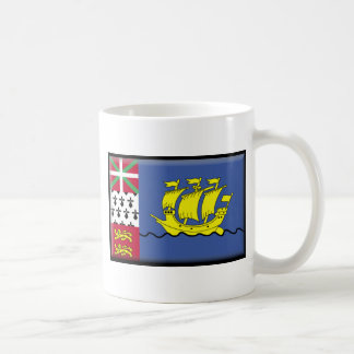 Saint Pierre and Miquelon Basic White Mug