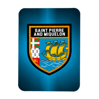 Saint Pierre And Miquelon Flag Magnet