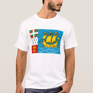 Saint-Pierre and Miquelon Flag T-Shirt