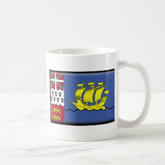 Saint Pierre and Miquelon (France) Flag Mugs