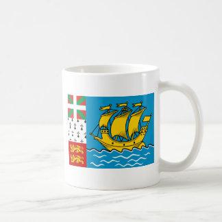 Saint Pierre And Miquelon, France flag Mugs