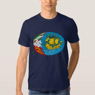 Saint Pierre and Miquelon Gnarly Flag T-Shirt