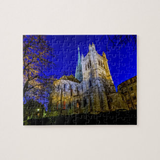 Saint-Pierre cathedral in Geneva, Switzerland Puzzle