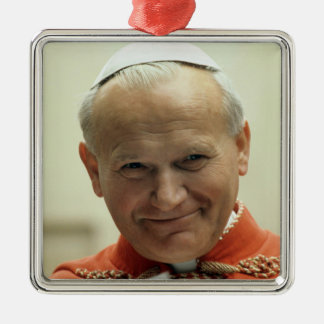 Saint Pope John Paul II Christmas Ornament