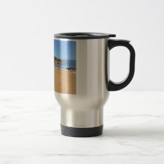 Saint-Quay-Portrieux in France Stainless Steel Travel Mug