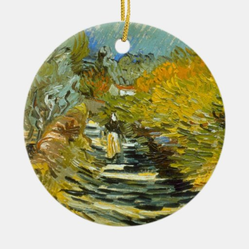 Saint-Remy by Vincent van Gogh Christmas Tree Ornament