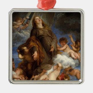 Saint Rosalie Interceding for the Plague-stricken Christmas Ornament