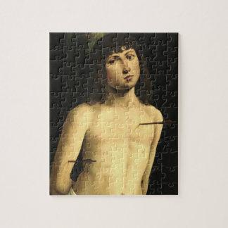 Saint Sebastian, c.1490s (tempera on panel) Puzzles