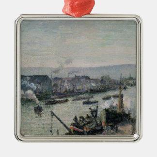 Saint-Sever Port, Rouen, 1896 Christmas Ornament