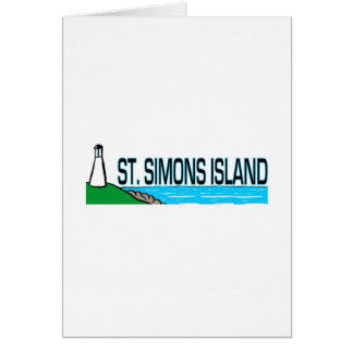 Saint Simons Island, Georgia Greeting Card