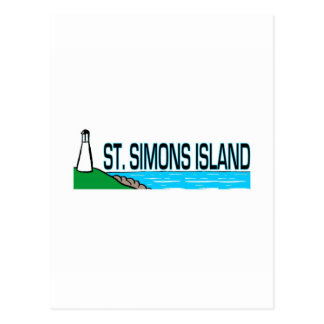 Saint Simons Island, Georgia Postcard