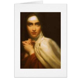 SAINT TERESA OF AVILA GREETING CARD