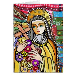 Saint Teresa of Jesus Card