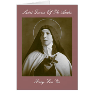 SAINT TERESA OF THE ANDES CARDS