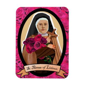 Saint Therese of Lisieux icon fridge magnet