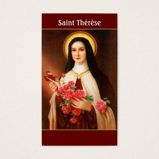 Saint Thérèse of Lisieux Prayer Cards