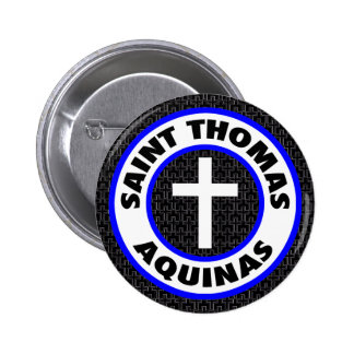 Saint Thomas Aquinas 6 Cm Round Badge