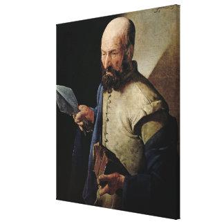 Saint Thomas (oil on canvas) Canvas Print