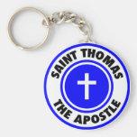 Saint Thomas the Apostle Keychain