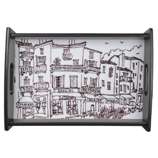 Saint-Tropez Shops | French Riviera, France Serving Tray