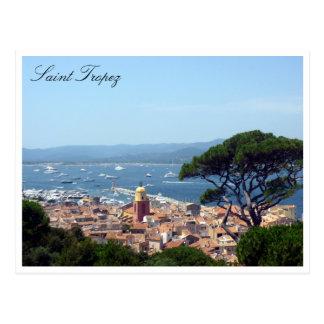 saint tropez views post cards