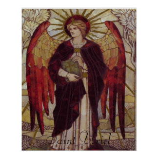 Saint Uriel print