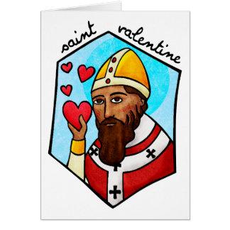 Saint Valentine Greeting Card